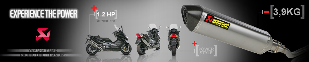 Akrapovic Open Line Black Touring